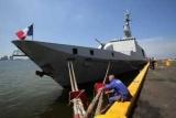 В Крыму корабль-НАТО невидимым