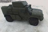 Министерство обороны показало новый бронеавтомобиль для ВДВ